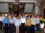 Une délégation de Xieng Khouang en visite à Ho Chi Minh-Ville