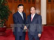 Des dirigeants vietnamiens reçoivent le haut responsable du Parti communiste chinois Liu Yunshan