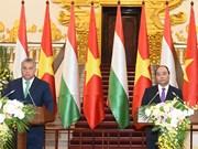 Le Vietnam et la Hongrie s'engagent à approfondir leurs liens