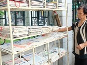 Une petite librairie gratuite pour les passants à Hanoï