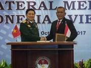 Vietnam-Indonésie : déclaration sur la vision commune de la coopération dans la défense
