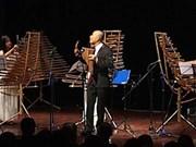 Belle association entre les instruments de musique en bambou et la musique classique occidentale
