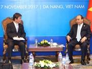 Le PM reçoit le ministre japonais de la Revitalisation économique