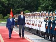 Le Vietnam et le Canada établissent leur partenariat intégral