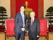 Le SG Nguyên Phu Trong reçoit le PM canadien Justin Trudeau