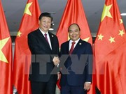 Le PM Nguyen Xuan Phuc rencontre le leader chinois Xi Jinping