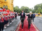 Le Vietnam et la Chine concluent 19 accords de coopération