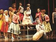 Des jeunes s'investissent dans le théâtre musical