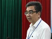 Un professeur vietnamien installé en qualité de membre d'une académie française