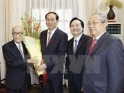 Les dirigeants rendent hommage aux enseignants vietnamiens