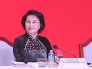 La présidente de l'Assemblée nationale en route pour Singapour et l'Australie