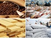 Agriculture: excédent commercial de près de 8 milliards de dollars