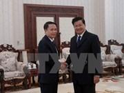 Le PM laotien salue le soutien de l'Agence vietnamienne d'information