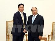 Le PM reçoit le président du groupe hongkongais Jia Yuan de Chine