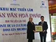 Expo d'archives sur l'empreinte de la culture française à Hanoï
