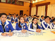 Un millier de jeunes délégués dialoguent avec les ministres