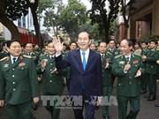 Le président exhorte la Garde-frontière à faire valoir son rôle