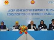 Améliorer l'accès des enfants handicapés à l'éducation