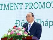 Le chef du gouvernement exhorte Dông Thap à promouvoir l'interconnexion