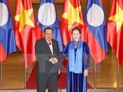 Entrevue entre la présidente de l'AN et le dirigeant laotien Bounnhang Vorachith
