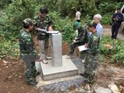 Dak Nông achève la délimitation et le bornage frontaliers