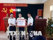 Tet traditionnel : visite aux soldats cantonnés sur l'archipel de Truong Sa