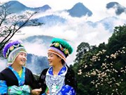 L'élégance des costumes traditionnels des femmes H'mông