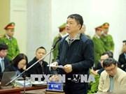 Le parquet réplique, l'accusé Dinh La Thang s'excuse