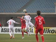 Le Vietnam arrache le nul à la Syrie et file en quarts de finale