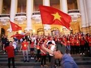 Football : le Vietnam chavire de bonheur