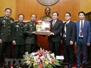 Le président du Front de la Patrie reçoit une haute délégation de l'armée cambodgienne