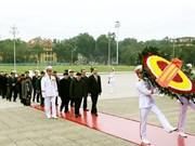Anniversaire de la fondation du PCV : hommage au Président Ho Chi Minh