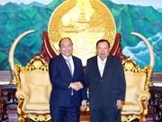 Le Premier ministre Nguyen Xuan Phuc rencontre des dirigeants laotiens