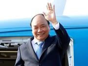 Le PM termine sa visite au Laos pour la 40e réunion du comité intergouvernemental Vietnam-Laos