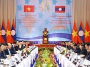 """La 40e session du Comité intergouvernemental Vietnam-Laos, """"un franc succès"""""""