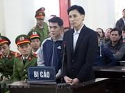 Nghe An: les hommes provoquant des troubles sociaux condamnés à des peines d'emprisonnement