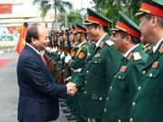 """À la 5e région militaire, le PM souligne l'exemple de """"Soldats de l'Oncle Hô"""""""
