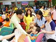 Un printemps de l'amour pour les enfants handicapés et orphelins