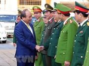 Le Premier ministre présente ses vœux du Nouvel An lunaire 2018 à Da Nang