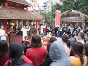 Les festivités printanières attirent un grand nombre de visiteurs
