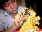 À Kiêu Ky, le village des feuilles d'or et d'argent