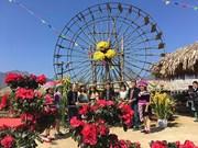 Profiter de la fête du « khèn » et des fleurs dans la région du Nord-Ouest