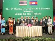Le Cambodge et la Thaïlande visent 15 mds de dollars d'échanges en 2020