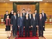 Le leader du PCV reçoit les ambassadeurs de l'ASEAN