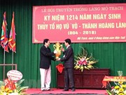 Hai Duong : le village doctoral Mo Trach à l'honneur