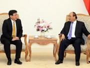 Le Premier ministre Nguyen Xuan Phuc reçoit le président du groupe Sojitz (Japon)