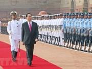 Succès des visites d'Etat en Inde et au Bangladesh du président Tran Dai Quang