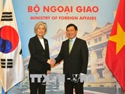 Vietnam-République de Corée : entretien entre les ministres des AE