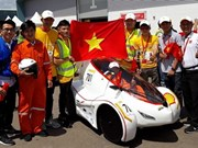 Université Lac Hông, champion du Shell Eco Marathon Asia 2018