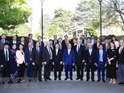 Le PM Nguyen Xuan Phuc visite l'Université nationale australienne